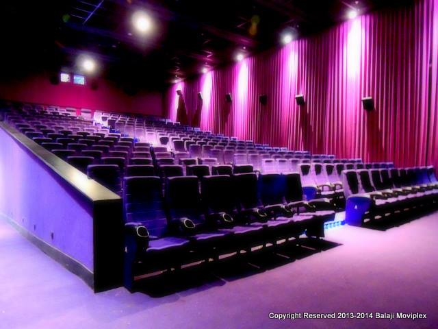 Balaji Movieplex Seats